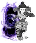 Inktober 2019 Day-01: Ring - Wraith Portal
