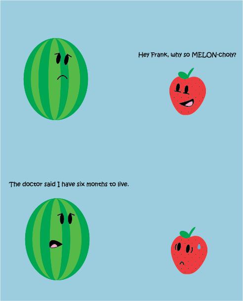Depressing Fruit Joke