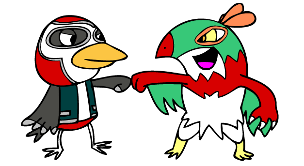 Birds of a Feather Tag Team Together by Panda-Commando on DeviantArt