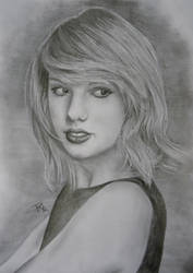 Taylor Swift by rosabelledraws