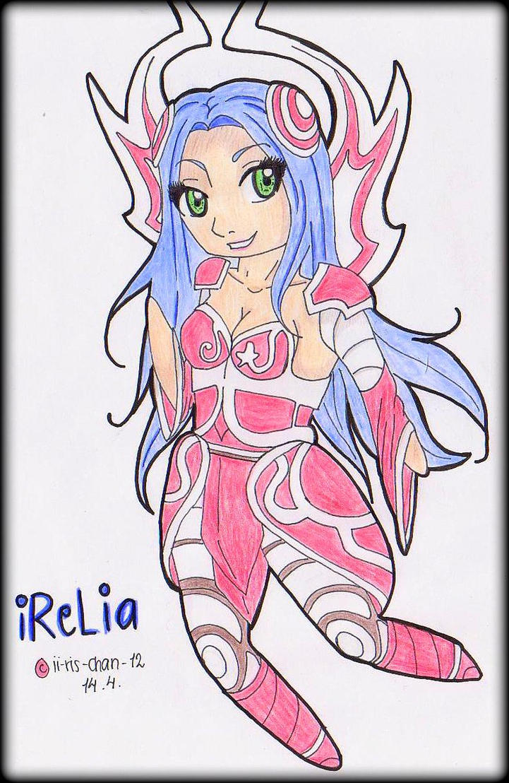 IRELIA - THE WILL OF THE BLADES CHIBI by ii-ris-chan