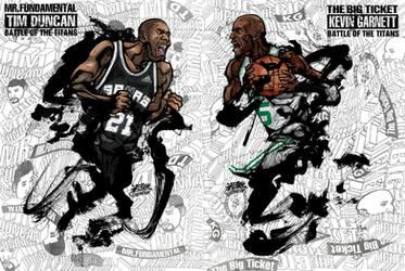 Garnett VS Duncan