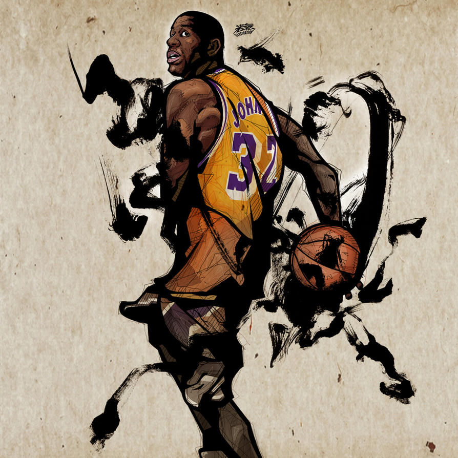 Magic Johnson by kwangki