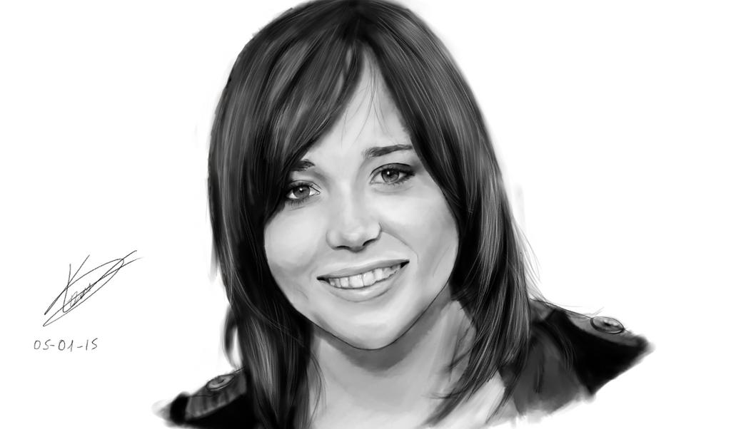 Ellen Page by vault-boyxD101