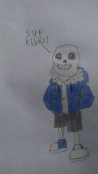 Undertale Sans drawing attempt