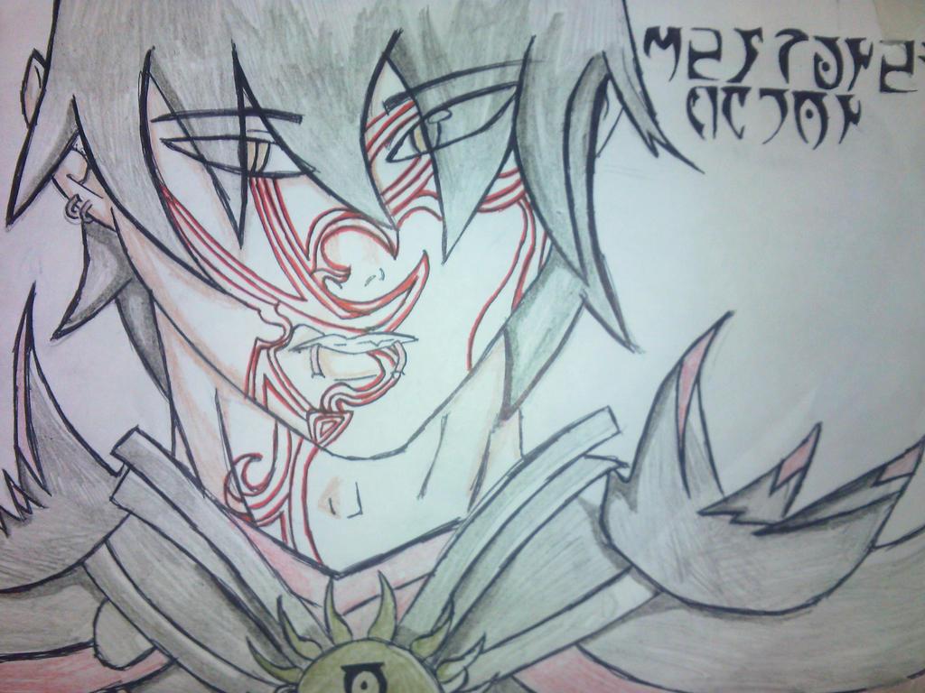 Mehrunes Dagon Human by Dishibiliophobia on DeviantArt
