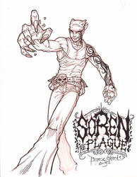 Shinobi of the High Seas: Soren The Plague by nightmaremaster000