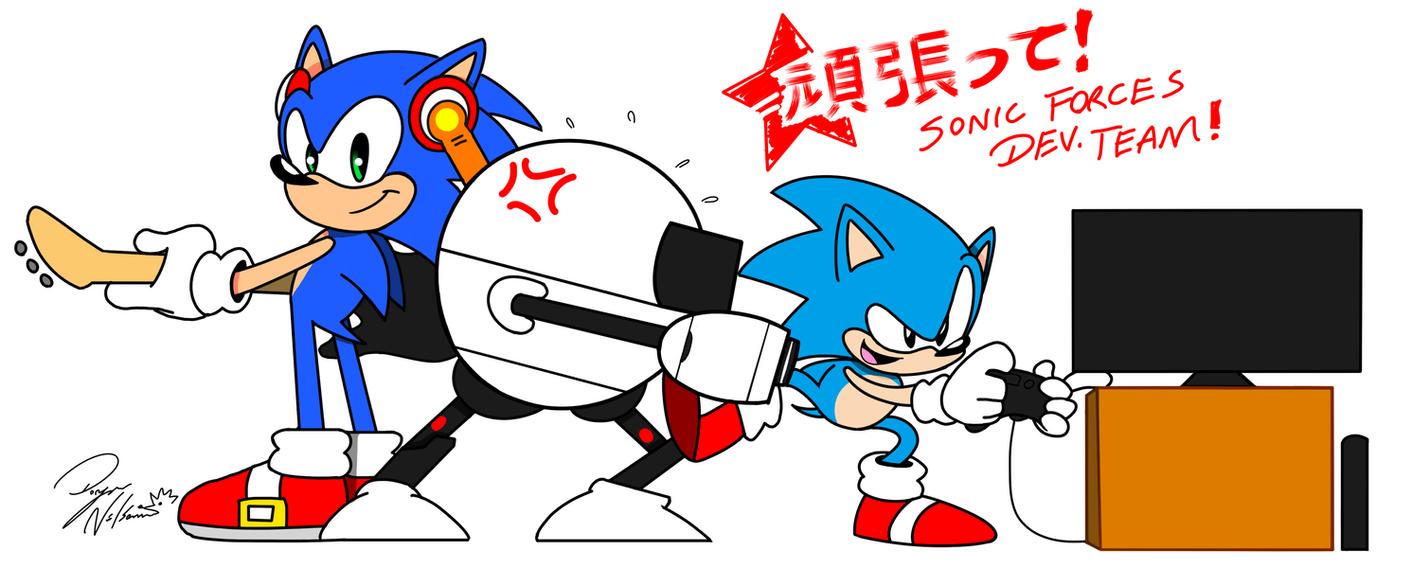 Go Sonic Forces Dev. Team! by DoryaNelson