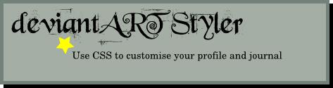 deviantART Styler by Fyorl