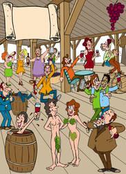 Baco Party by animastrella