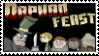 Orphan Feast stamp by Ohthehumanityplz