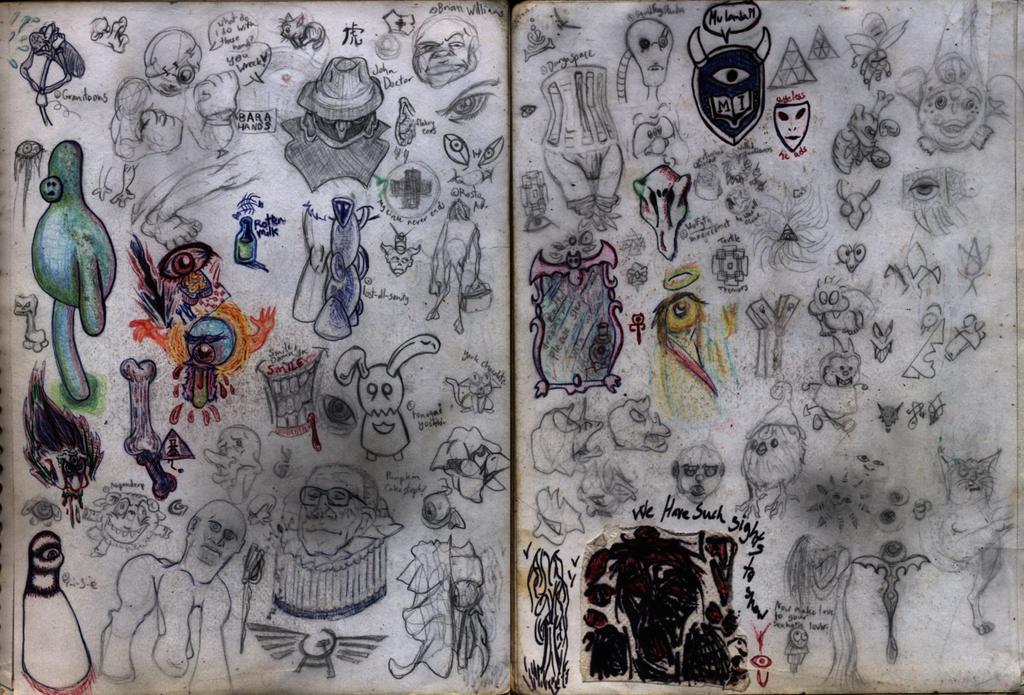 Sketchbook 38 by Ohthehumanityplz