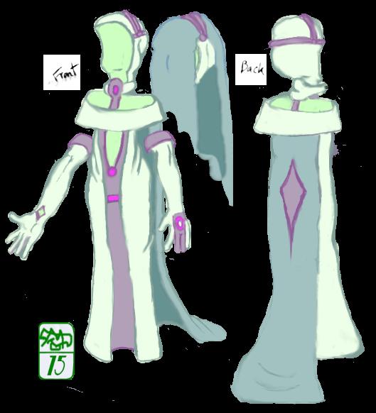 Alien wedding dress by Ohthehumanityplz