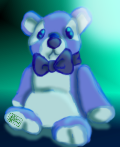 A blue bear for alice by Ohthehumanityplz