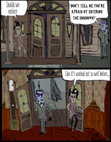 Lost House on the LEft pg 3 by Ohthehumanityplz
