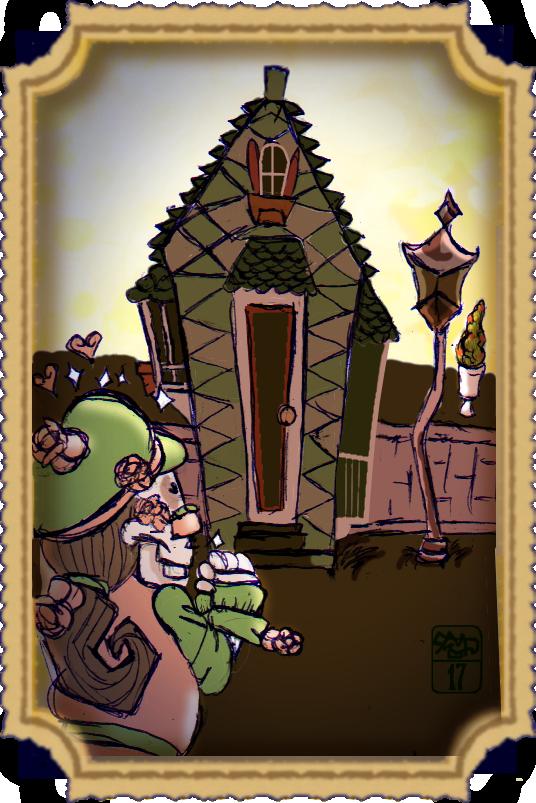 Skeledork's dreamhouse by Ohthehumanityplz