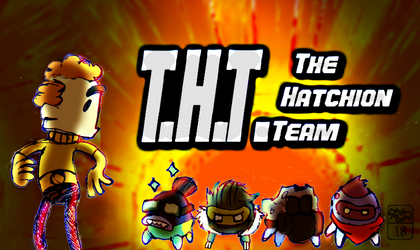 Stinky and the global hatchion team