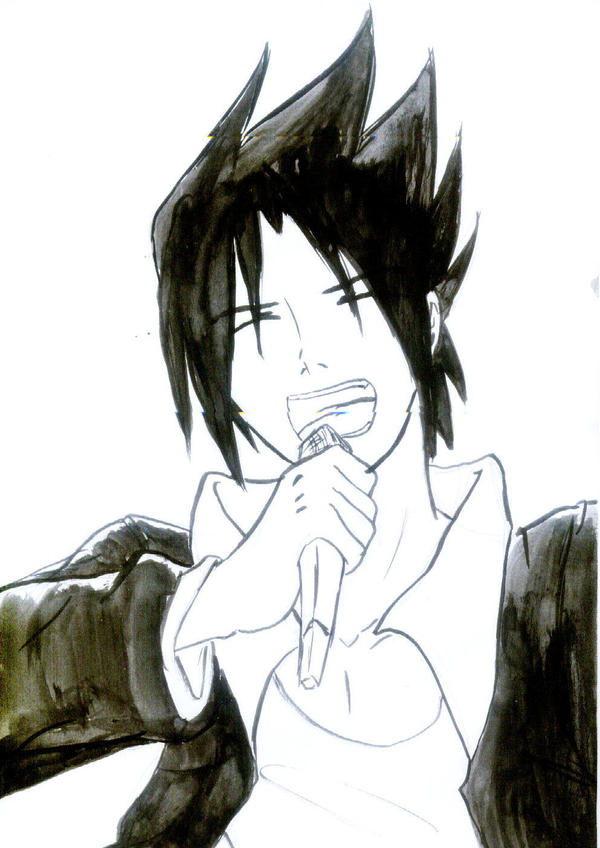 sasuke singing by Midorikawa-eMe111