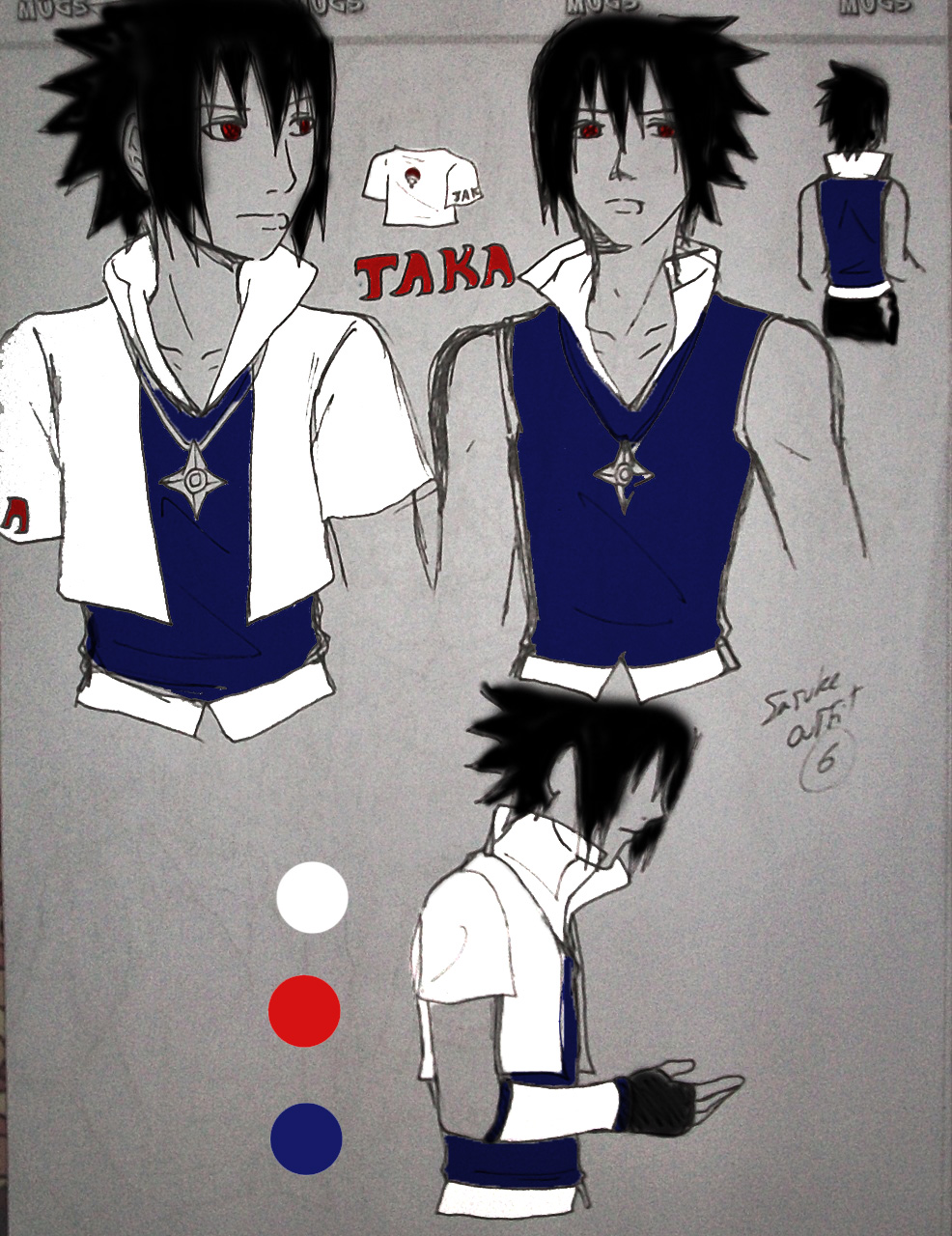 Sasuke Blue Outfit - Viewing Gallery