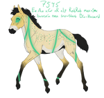 7545 Padro Foal Design by Fay-leigh