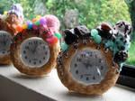 Candy Covered Donut Clocks 2 by kawaiifriendscafe