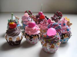 Cupcakes 2 by kawaiifriendscafe