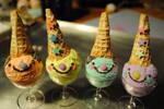 Ice cream sundae clowns