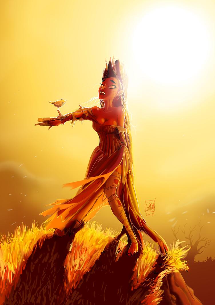 Beware of the sun! by JosepGiro