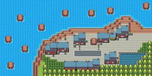 Pokemon Style Free Monster MMORPG Map Suburbia
