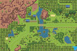 Pokemon Style Monster MMORPG Map Central Plains