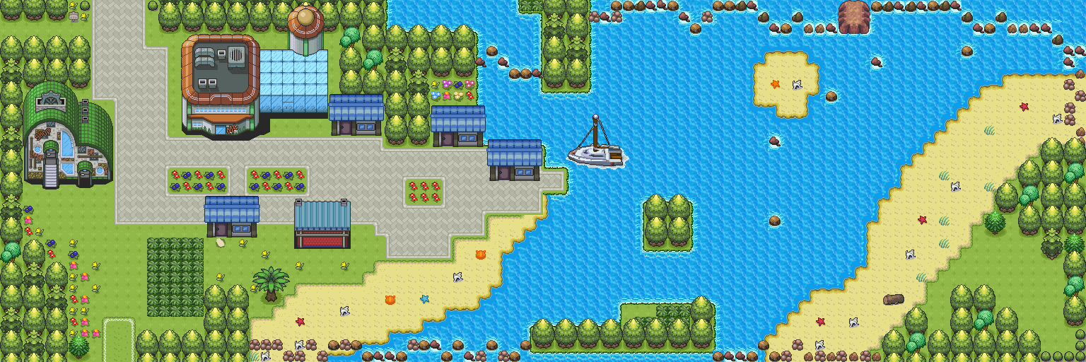 pokemon style free monster mmorpg map bamboo coast by monstermmorpg