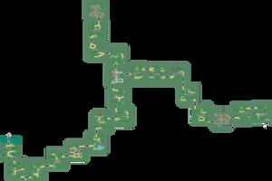 Pokemon Like Monster MMORPG V2 Zone 3 World Map