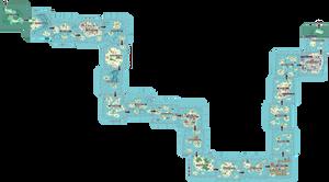 Pokemon Like Monster MMORPG V2 Zone 5 World Map by MonsterMMORPG
