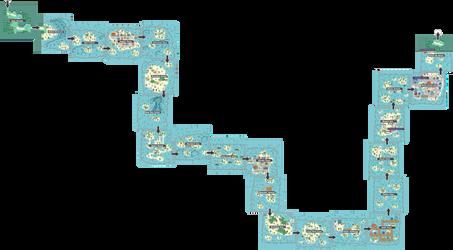 Pokemon Like Monster MMORPG V2 Zone 5 World Map