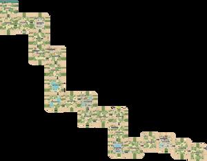 Pokemon Like Monster MMORPG V2 Zone 7 World Map