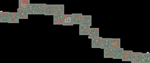 Pokemon Like Monster MMORPG V2 Zone 9 World Map