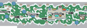 Pokemon Like Monster MMORPG V2 Zone 15 World Map