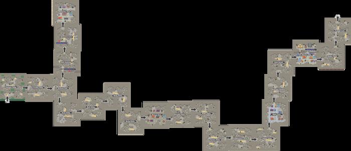 Pokemon Like Monster MMORPG V2 Zone 18 World Map