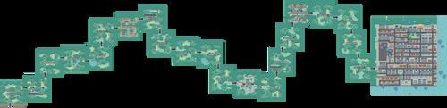 Pokemon Like Monster MMORPG V2 Zone 19 World Map