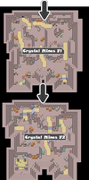 Zone 1 Normal Caves Zone Map Pokemon Like MMORPG