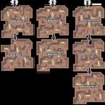 Zone 8 Rock Caves Zone Map Pokemon Like MMORPG by MonsterMMORPG