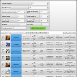 MonsterMMORPG Pokemon Fakemon Game Search Player