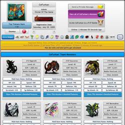 MonsterMMORPG Pokemon Fakemon Game Player Team