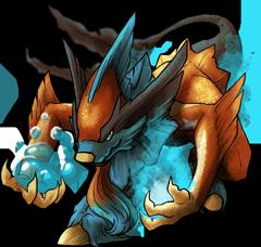 Monster Pyrain Pokemon Fakemon Game MMORPG V2 by MonsterMMORPG