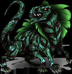 Monster Grasilisk Pokemon Fakemon Game MMORPG V2 by MonsterMMORPG