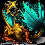 Monster Stromeleon Pokemon Fakemon Game MMORPG V2