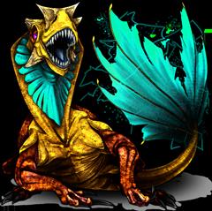 Monster Stromeleon Pokemon Fakemon Game MMORPG V2 by MonsterMMORPG