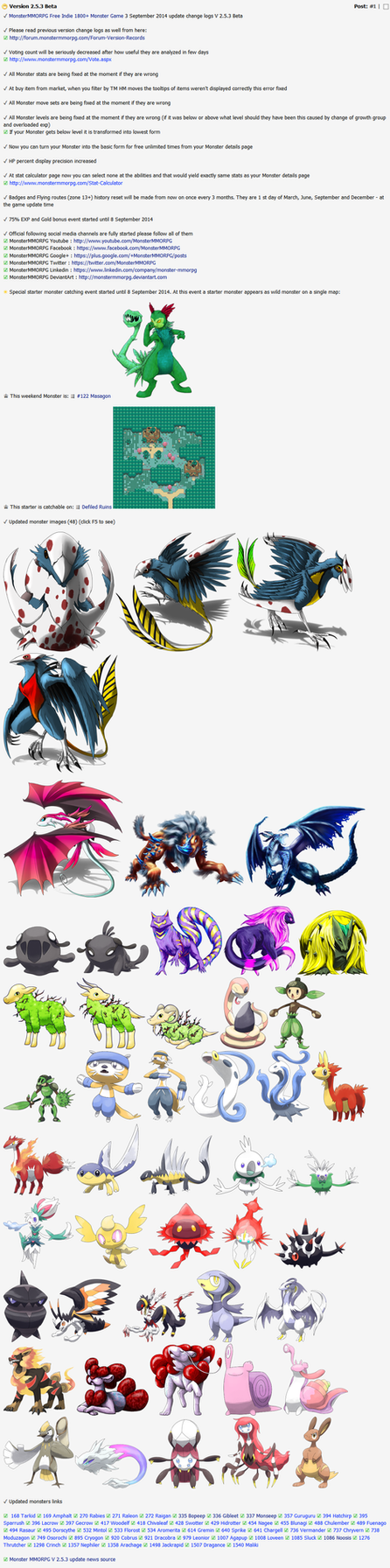Alternative to Pokemon Online Games Monster MMORPG by MonsterMMORPG