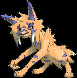 Fake Pokemon Game Monster Dontigra MMO RPG by MonsterMMORPG
