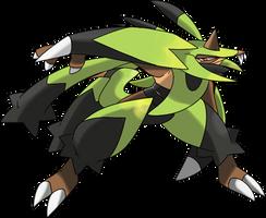 Fake Pokemon Game Monster Grassassin MMO RPG